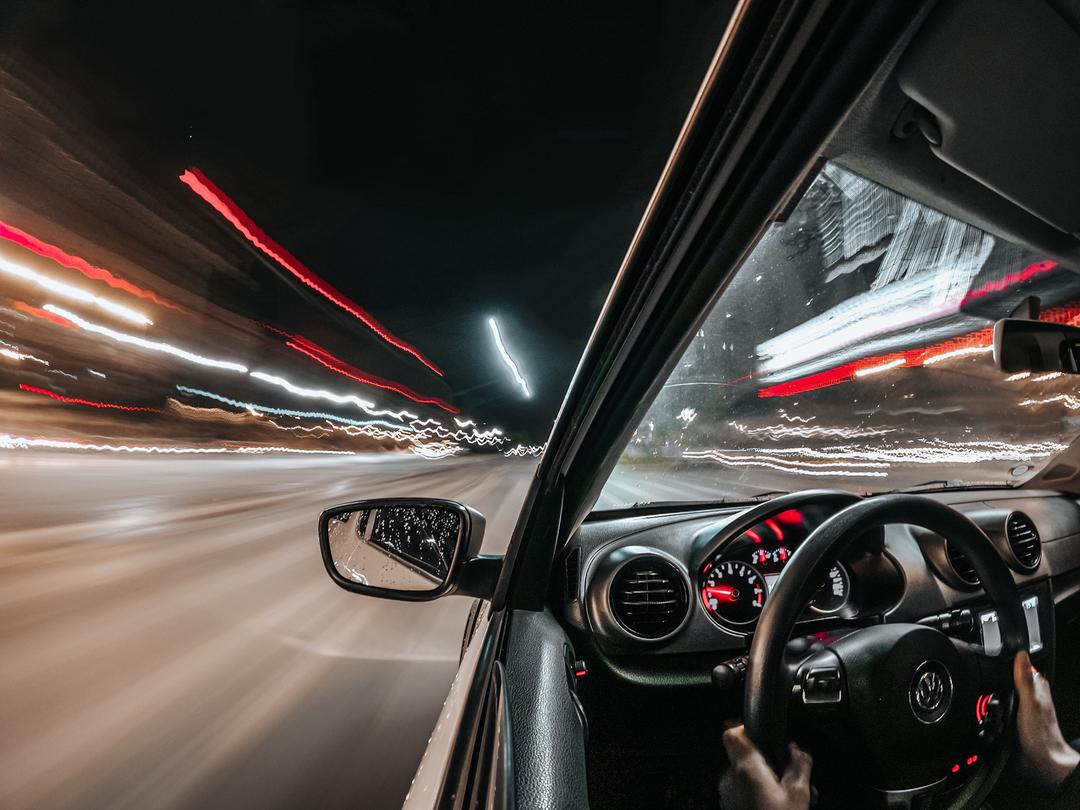 [ANTESxDEPOIS] Night Lapse Photo no carro