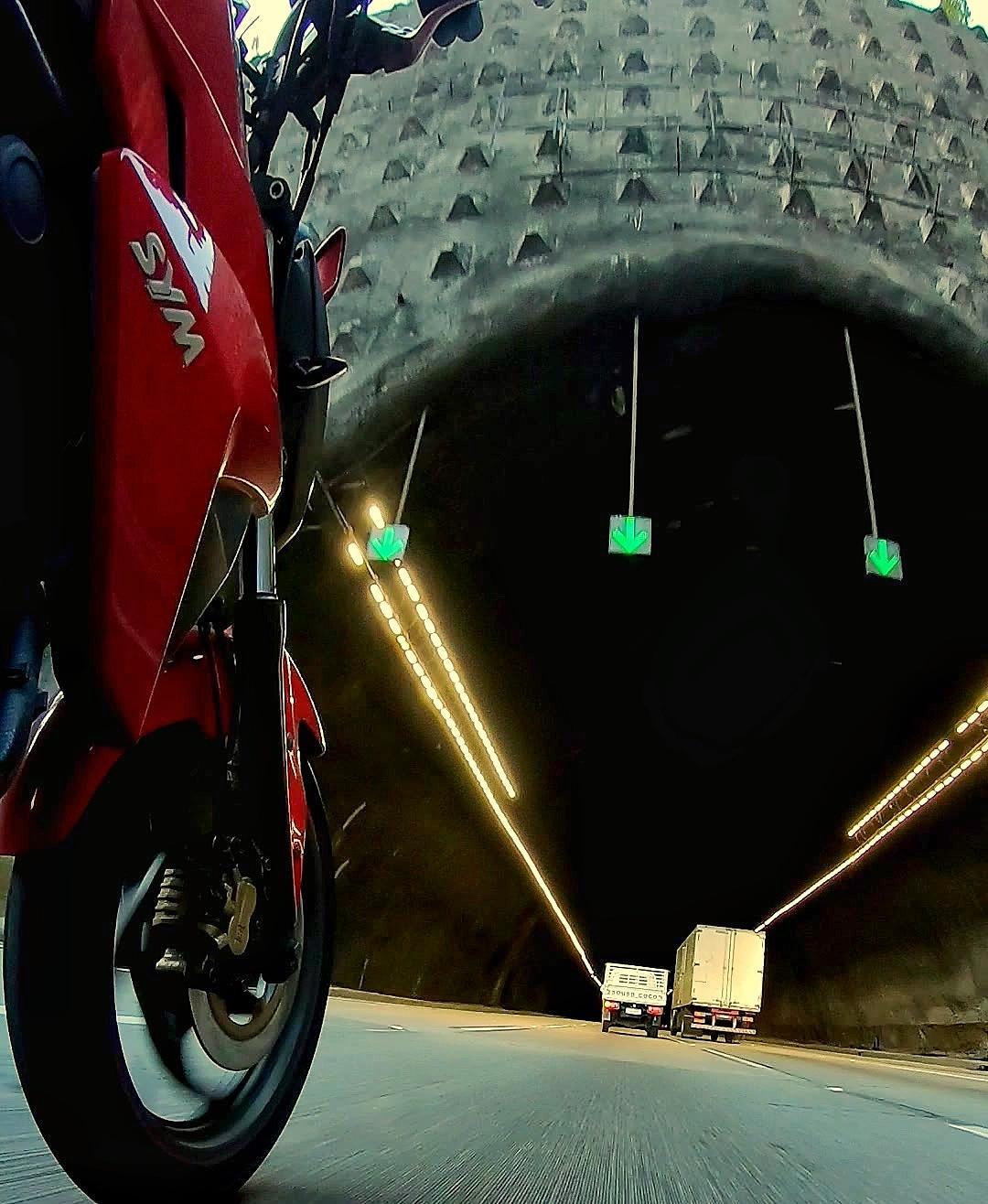 A volta de motoca