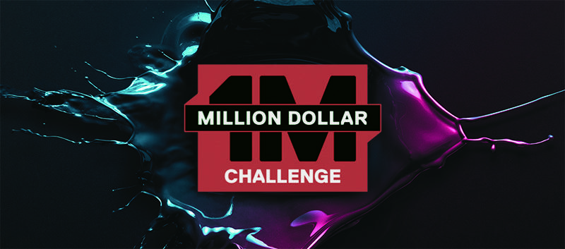 O Desafio Million Dollar da HERO9 Black começa agora!