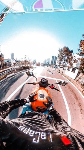 Amor por moto e Gopro 😅